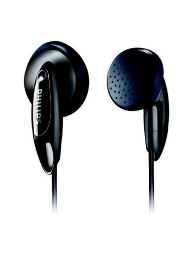 SHE1350/00 Kulakiçi Siyah Kulaklık-Philips